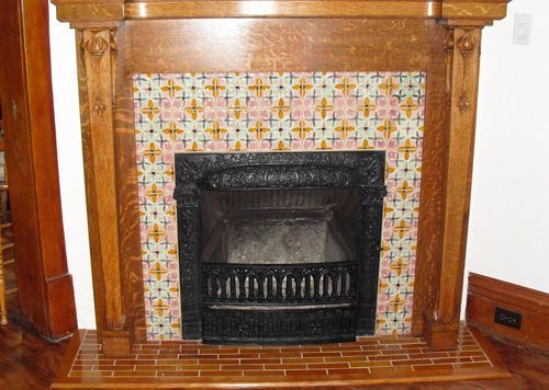 Moulded Fireplace Surrounds Antique Fireplace Makeover Project With Bonita