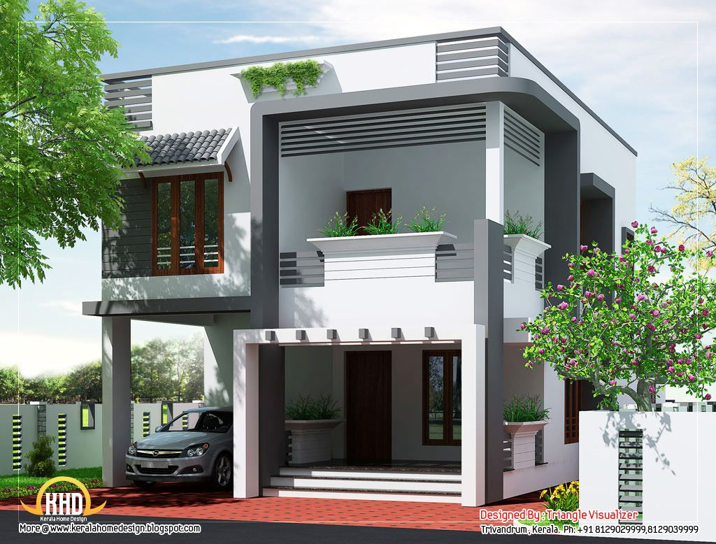 Front House Design Philippines Budget Home Design Plan 2011 Sq