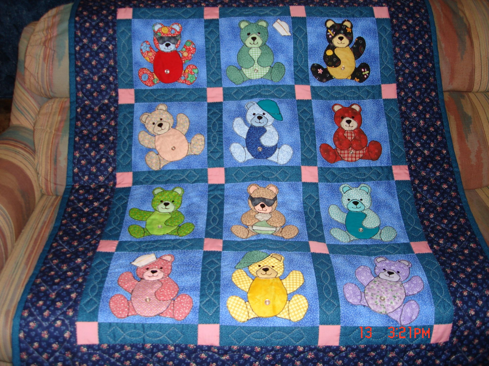 Baby Cot Quilt Kits