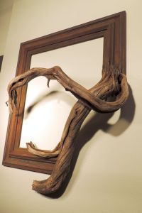 Rusty - Vintage Wood Frame with Grafted Manzanita Branch ...