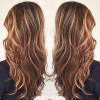 Brown hair color, caramel highlights, caramel balayage ...