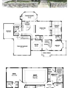 Colonial style cool house plan id chp total living area also rh pinterest