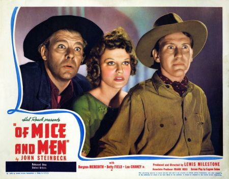 Image result for of mice and men 1939 POSTER