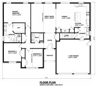 1905 sq. ft - The Barrie House Floor Plan - Total Kitchen ...