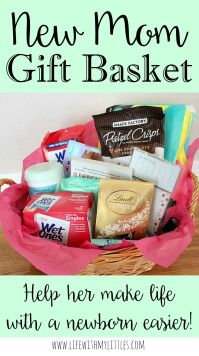 New Mom Gift Basket | Mom gifts, Gift and Babies