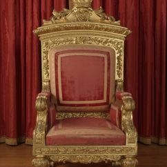 How To Make A Queen Throne Chair Huge Bean Bag Chairs Victoria 39s Made For Her Coronation In 1837