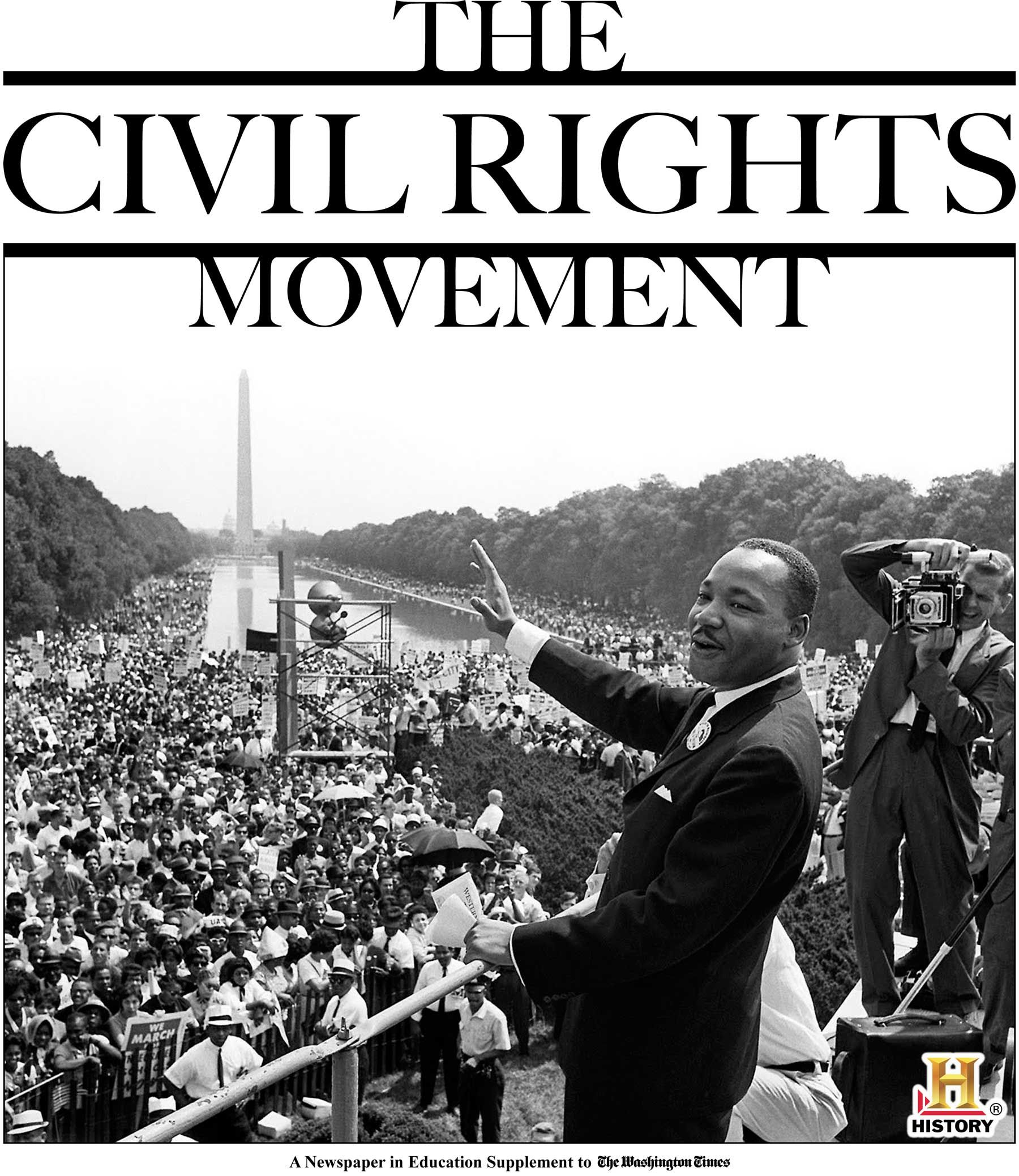 The Civil Rights Movement Newspapers In Education Tab