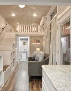 Kate tiny home on wheels by house building company interior also best ever seen the rh pinterest