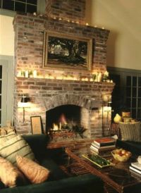 Brick Fireplaces Design, Pictures, Remodel, Decor and ...