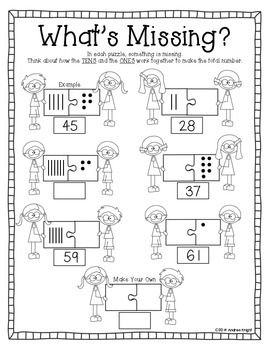 Let's Practice Place Value! {Student Worksheets for Grades