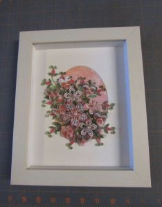 Framed quilling by heirloomquilling on etsy also rh pinterest