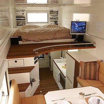 Tiny House Hacks To Maximize Your Space Dream House Pinterest