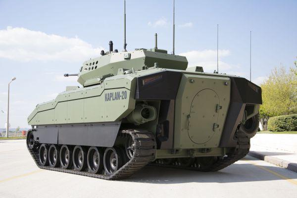 Turkish FNSS Kaplan NextGeneration Armored Combat Vehicle