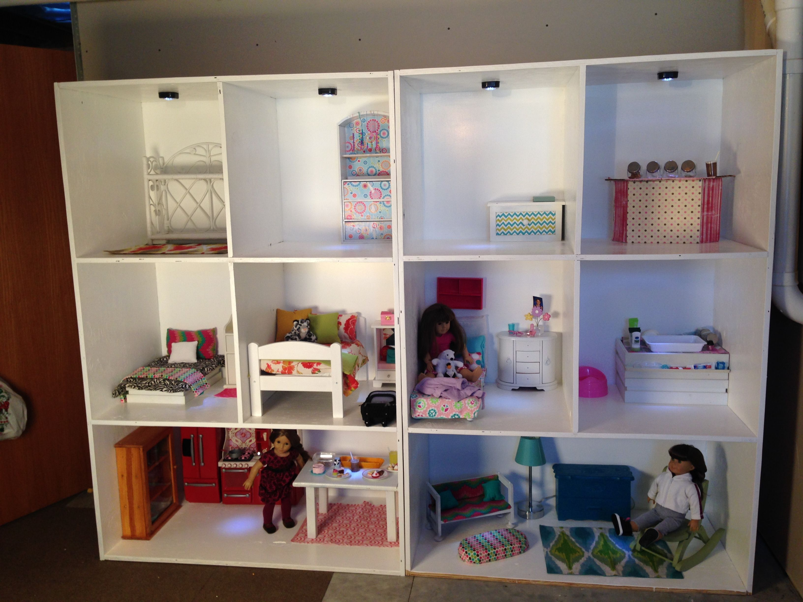 Diy American Girl Dollhouse DIY American Girl Doll House AG