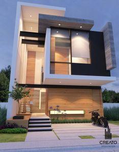 Fachadas de casas estreitas also best house images on pinterest rh in