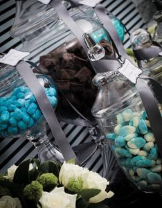Sophisticated black silver  blue birthday party ideas also rh pinterest