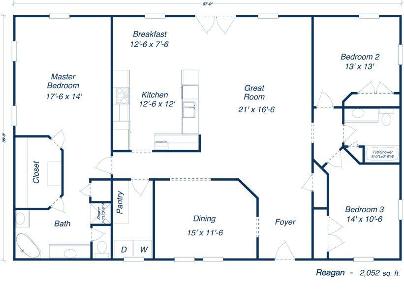 Barn Homes Floor Plans 2014 Metal Building Floor Plans For Homes