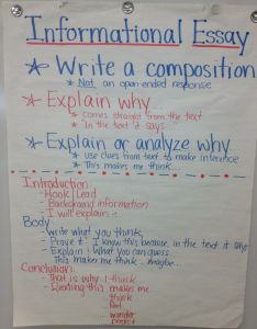 Informational essay th grade ela anchor charts also why be  teacher do you want to simple rh zelihaangeip