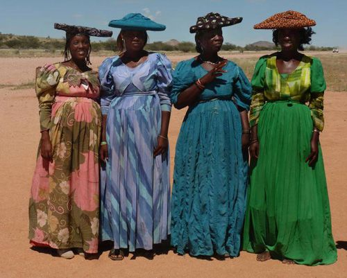 Image result for herero tribe clothing
