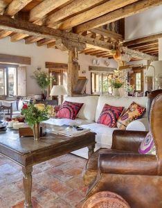 Una vieja casa de campo restaurada an old restored farmhouse farmhousespanish style interiorsspanish also rh pinterest