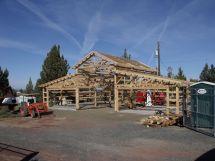 Monitor Style Pole Barn House Plans