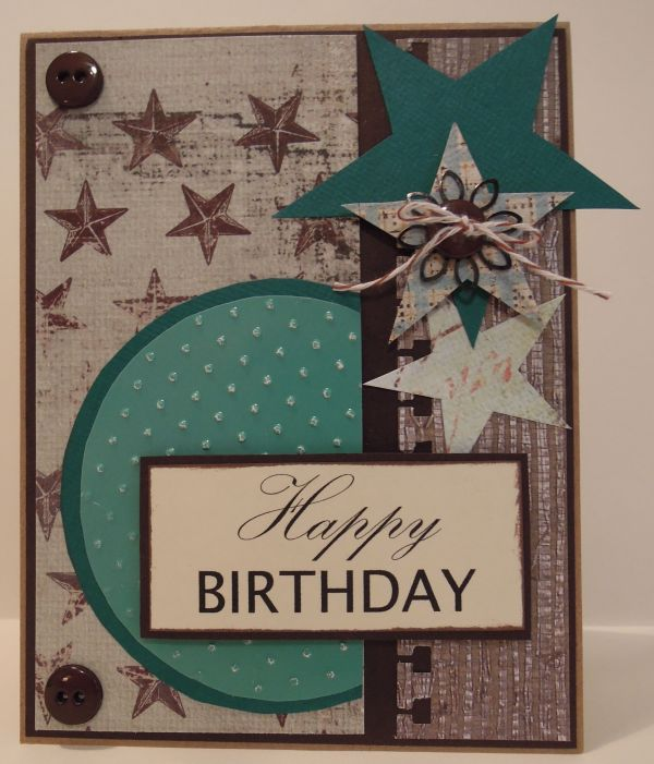 Happy 65th Birthday Card For Men