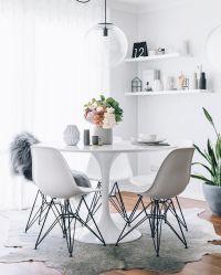 Ikea 'Docksta' tulipe table @oh.eight.oh.nine | Home sweet ...