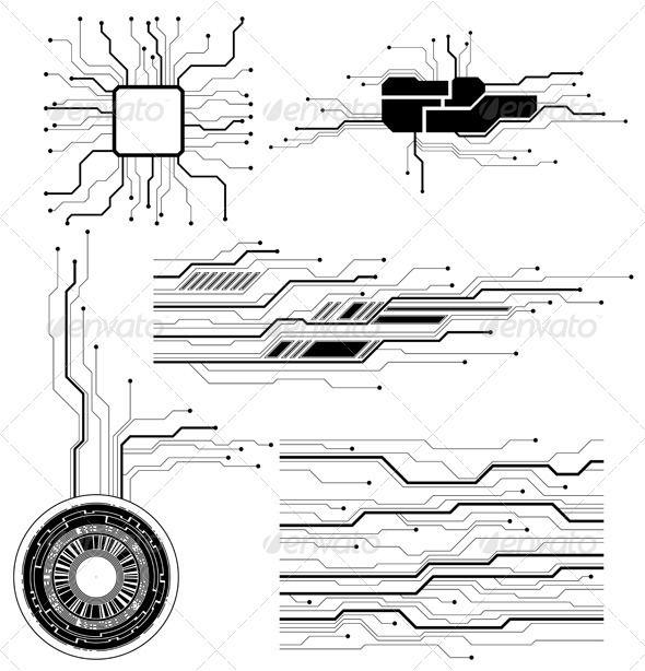 circuit board graphicriver