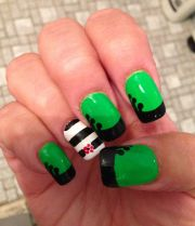 wicked musical nail art kl