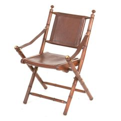 Folding Chair Leather Revolving Charge Account Teak And Chairs
