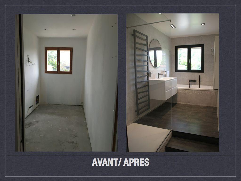 Avant Apres Salle De Bains Design 001  Sdb Pinterest