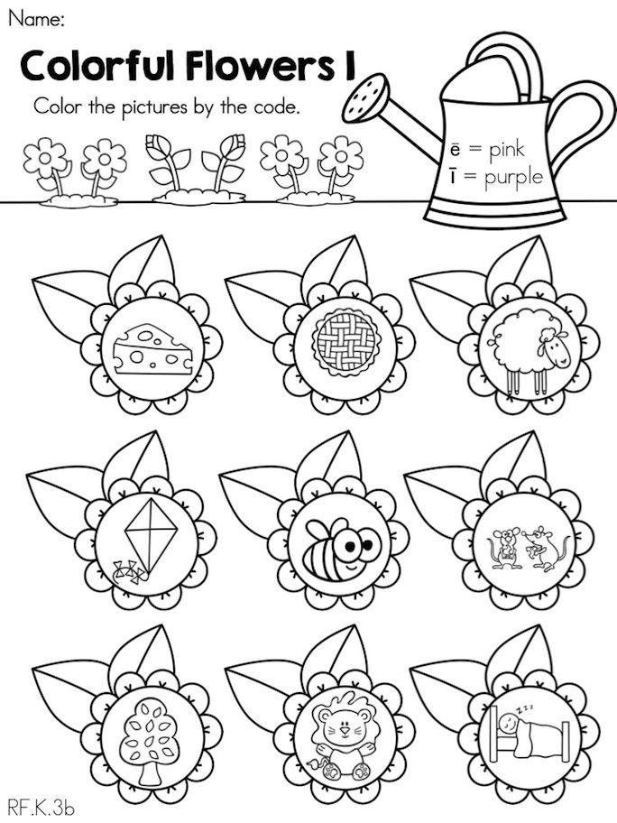spring language arts activities for kindergarten