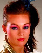 1980's. makeup rachel sophie