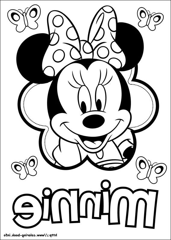 The Most Amazing Interesting simple minnie mouse coloring