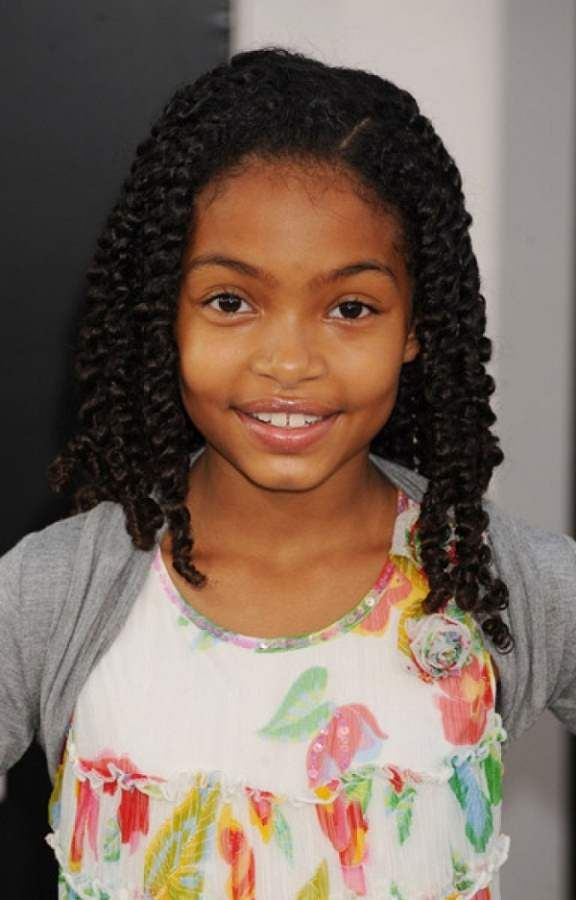 Hairstyles 2014 For Little Girls African American Braid Hairstyles