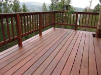 Simple deck railing designs - no post caps!!!! | make ...