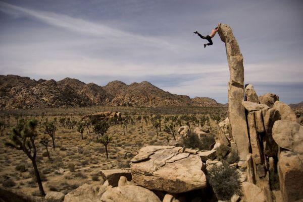 Rock Climbing Joshua Tree Park