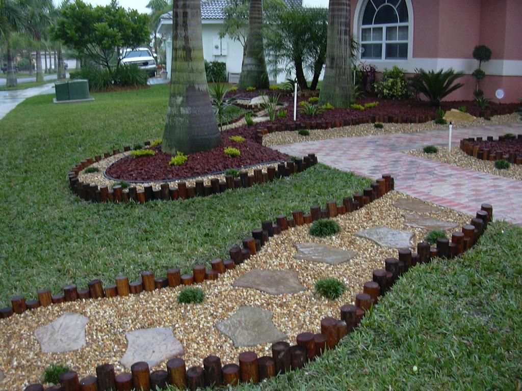 Garden Decorating Ideas With Stones Gardens Florida And Designs
