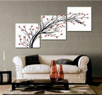 3+Diagonal+Wall+Art+Set | ... Piece Wall Art Set Modern ...