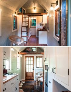 House also ynez by timbercraft tiny homes bedroom loft tile showers and rh pinterest