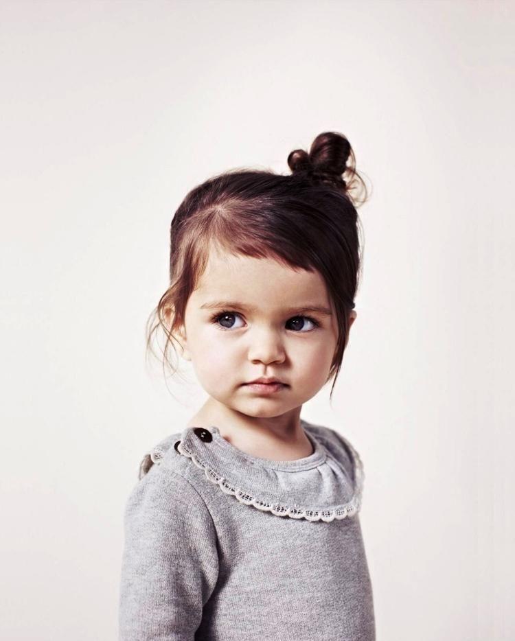 Für Kleinere Kinder Seitlich Das Haar Zusammenstecken Frisuren