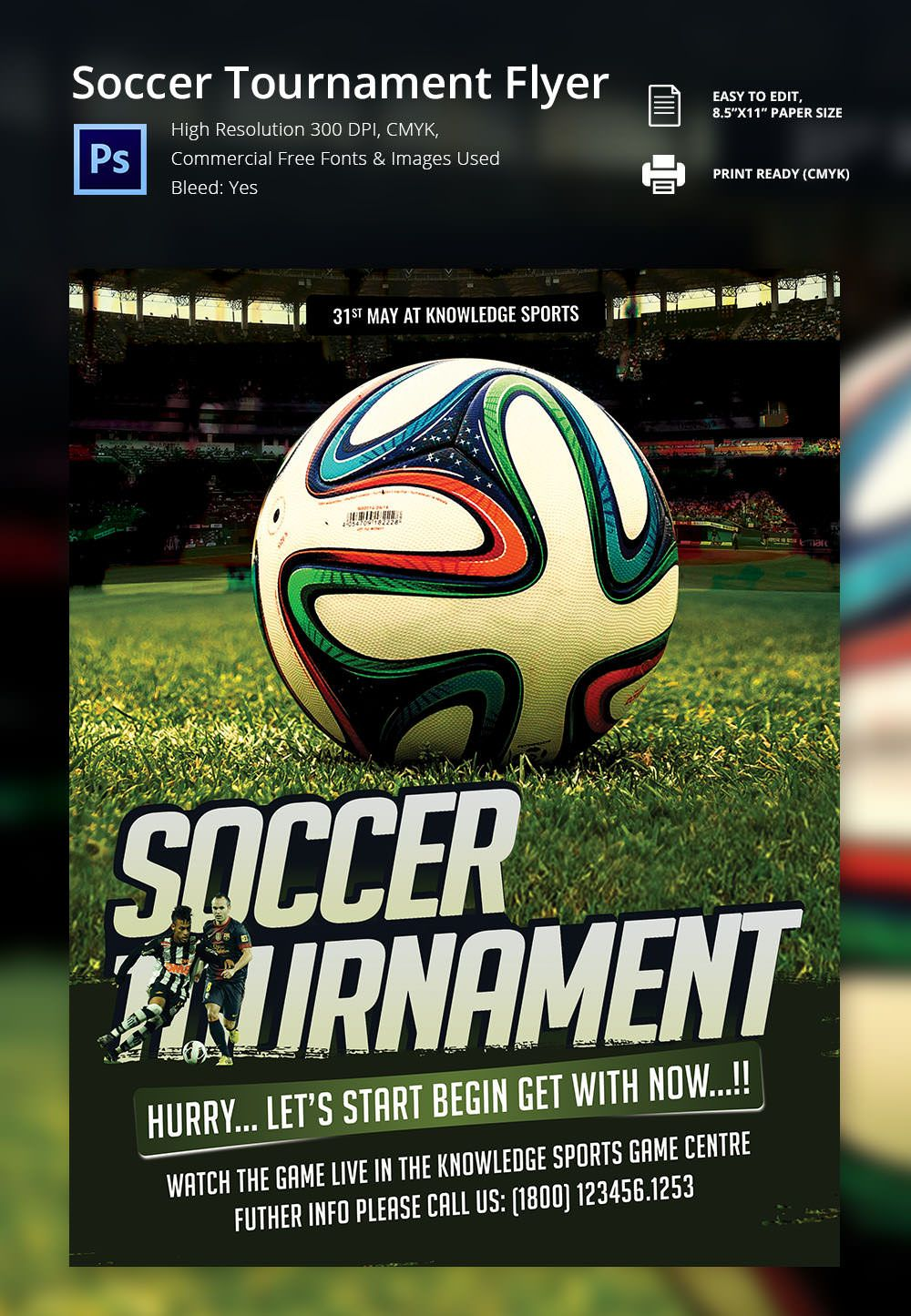 Image Result For Free Soccer Flyer Templates Photoshop