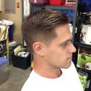 men clean haircut - google