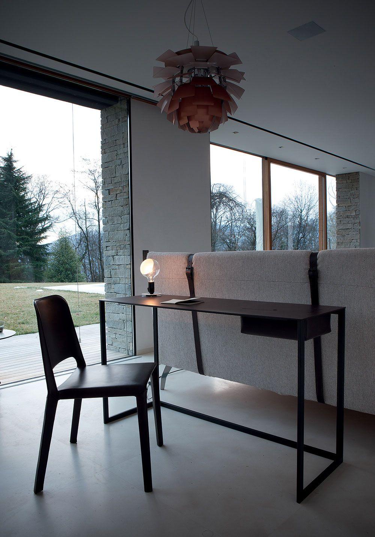 bureau luminaire et chaise design http www denisinterieur be