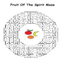 Free Fruit of The Spirit Sunday School Lesson For Kids By