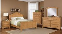 Pine furniture   BB66 Farmhouse Washed Pine Bedroom   DFW ...