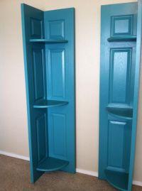 closet bifold doors turned corner shelves >> We have a ...