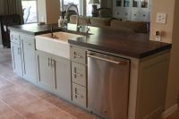 Small Kitchen Island with Sink and Dishwasher | kitchen ...