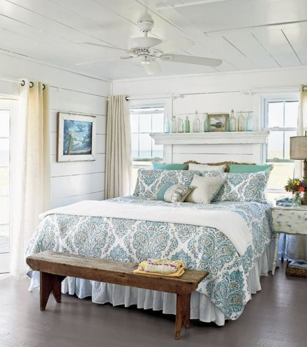 Lovely Bedroom Would Be A Perfect Master Bedroom At A Cottage Or
