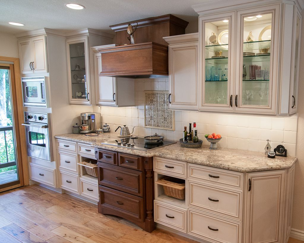 Dynasty by Omega cabinetry in the Marco  Kentwood door